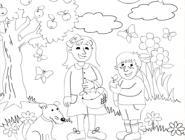 Coloring pages with