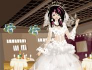Emo Bride Dress Up