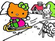Hello Kitty Play Coloring