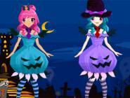 Twins Halloween Dress Up